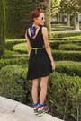 Black-romwe-dress-blue-we-love-colors-bra