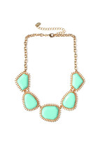 PRESHE Sherbet Rocks Golden Halo Necklace