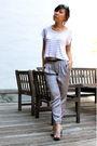 White-lf-top-silver-pants-gray-shoes-black-celine-sunglasses-silver-earr