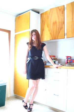 Old Navy dress - idk belt - Steve Madden shoes