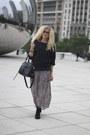 Wanted-shoes-boots-maxi-dress-dress-american-living-sweater