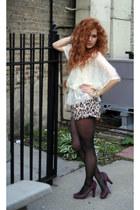 H&M shorts - BCBG heels