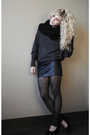 Black-the-limited-scarf-gray-forever-21-sweater-black-bb-dakota-skirt-blac