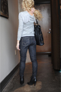 Gray-zara-sweater-black-levi-jeans-black-deena-and-ozzy-boots-gold-bracele