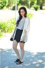Off-white-primark-blazer-black-primark-bag-black-stradivarius-shorts