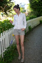 sam edelman loafers - H&M shirt - All Saints shorts