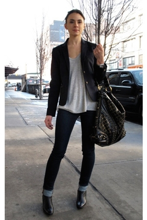 pants - blazer - top - shoes - accessories