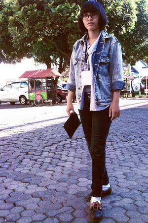 Realizm shirt - skinny jeans unbranded jeans - blue jeans Tack West jacket