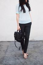 PROENZA SCHOULER bag - H&M shirt - Zara heels