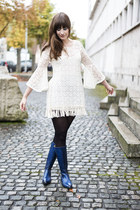 Melvin & Hamilton boots - lookbookstore dress