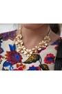 Cream-choies-dress-choies-necklace
