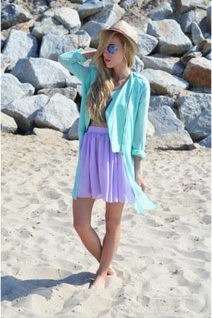 coat - skirt
