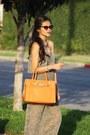 Carrot-orange-michael-kors-bag-four-sisters-sunglasses