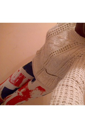 eggshell knit Primark Atmosphere sweater