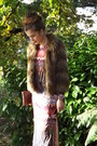Brown-ankle-boots-river-island-boots-ruby-red-maxi-dress-river-island-dress