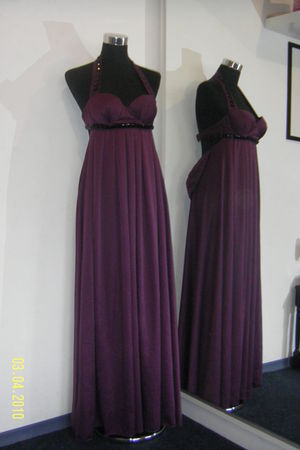 purple by me dress