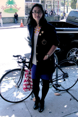 lauren ralph lauren blazer - t by alexander wang t-shirt - top - skirt - Aldo sh