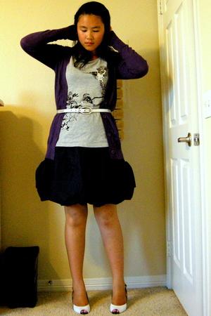 Only shirt - Mossimo sweater - skirt - Vero Moda belt