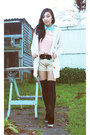 Jacket-glassons-tights-korean-label-shorts-md-fashion-blouse