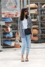 Sky-blue-mom-jeans-topshop-jeans-black-crossbody-sling-bag