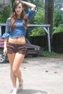 Brown-charlotte-russe-shorts