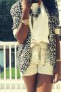 Cream-high-waisted-h-m-shorts-leopard-open-h-m-blazer