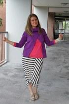 H&M top - H&M dress - Vero Moda jacket
