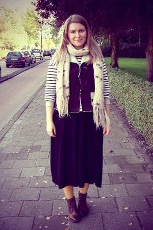 Zara skirt - Sacha shoes - Zara top