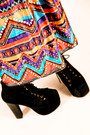 Vintage-dress-jeffrey-campbell-boots-mexico-hat