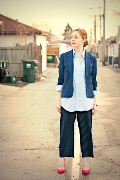 shirt - blazer - pants