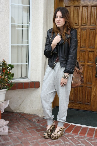 Guess jacket - Forever 21 pants - Jeffrey Campbell - shoes