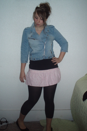Wetseal jacket - homemade skirt