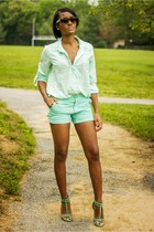 aquamarine Gap shorts