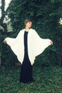 Black-forever-21-boots-black-maxi-forever-21-dress-white-batwing-thrifted-vi