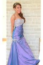 light purple Night Moves dress