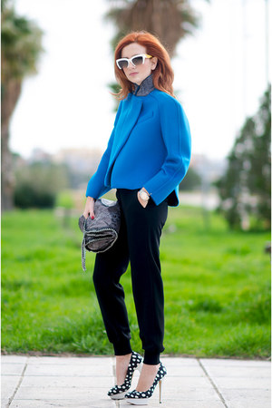 Max Mara jacket - Stella McCartney bag - Miu Miu sunglasses - Max Mara pants