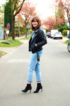 asos jacket - Zara jeans - COS shirt - H&M heels