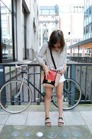Hallhuber bag - H&M shorts - Park Lane sandals
