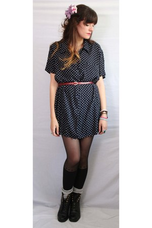 polka dots Aurora Vintage Boutique dress