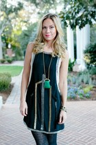 deco madison marcus dress - pendant the cheeky bean necklace
