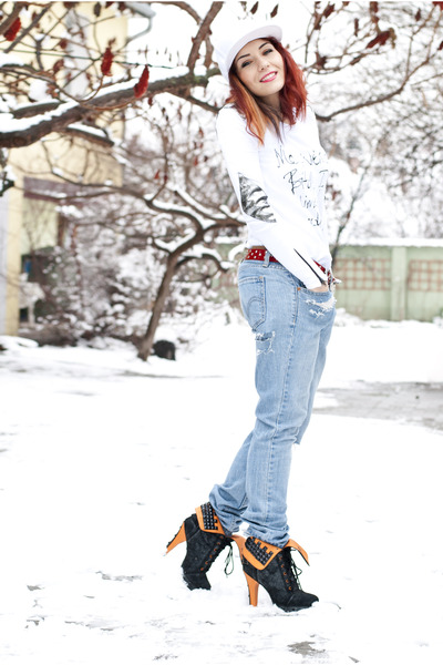 BAD style top - Levis jeans