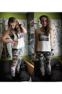 Army-green-urbanog-leggings-beige-artist-edition-sitka-top