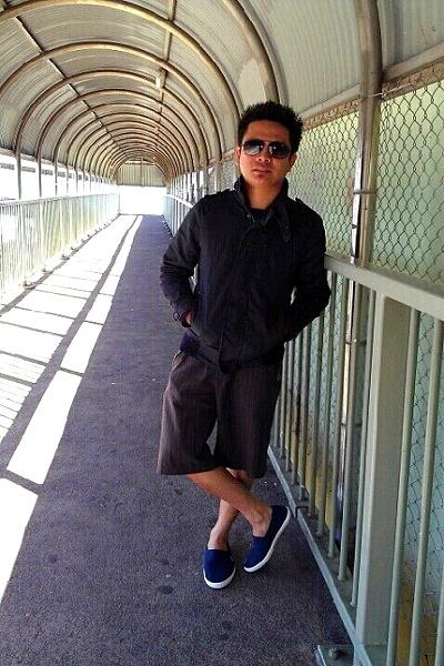 Jay jay jacket - maldita shorts - Carerra sunglasses - Lacoste sneakers