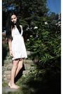 White-bik-bok-dress