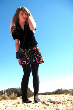 black Alice Temperley for Target jacket - black none tights - black xhilaration