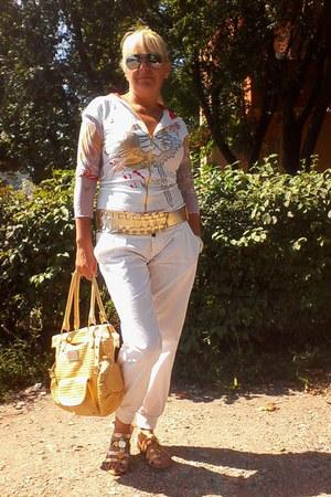 D&G bag - Accessorize sandals - Pepe Jeans blouse