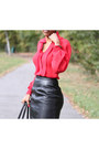 Black-walter-steiger-boots-black-peplum-zara-jacket-banana-republic-bag