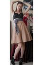 Black-target-bra-pink-bannana-republic-skirt-black-jeffrey-campbell-shoes-