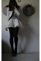 H&M children skirt - H&M shirt - Zara jacket