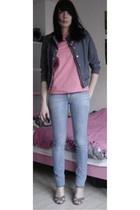 H&M Trend shirt - Promod shoes - H&M jeans